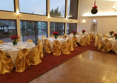 Hall christmas party